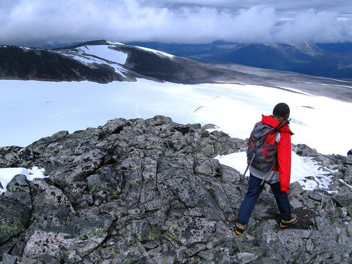 Foto: Andreas Koller / Wander Tour / Galdhopiggen (2469m) - Gletschertour auf den höchsten Berg Nordeuropas  / 07.08.2009 00:55:22