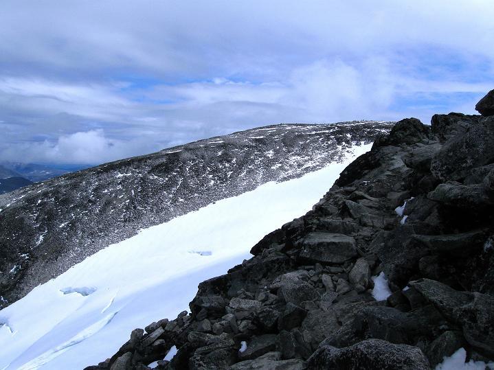 Foto: Andreas Koller / Wander Tour / Galdhopiggen (2469m) - Gletschertour auf den höchsten Berg Nordeuropas  / Keilhaus topp (2355 m) / 07.08.2009 00:54:24