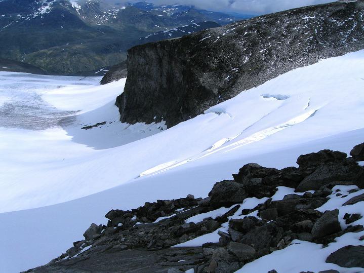 Foto: Andreas Koller / Wander Tour / Galdhopiggen (2469m) - Gletschertour auf den höchsten Berg Nordeuropas  / 07.08.2009 00:54:06