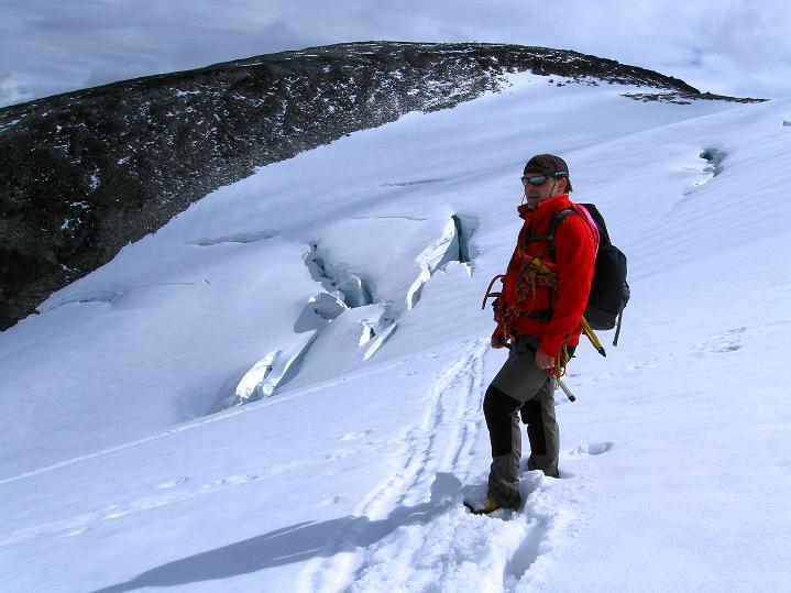 Foto: Andreas Koller / Wander Tour / Galdhopiggen (2469m) - Gletschertour auf den höchsten Berg Nordeuropas  / 07.08.2009 00:53:48