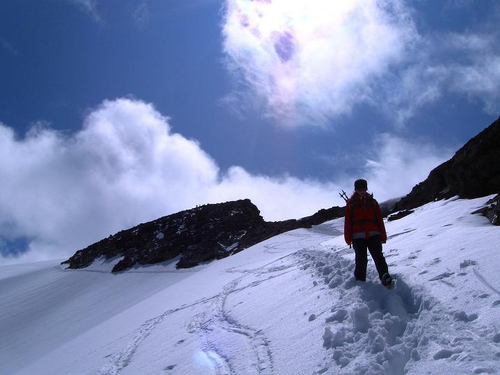 Foto: Andreas Koller / Wander Tour / Galdhopiggen (2469m) - Gletschertour auf den höchsten Berg Nordeuropas  / 07.08.2009 00:53:31