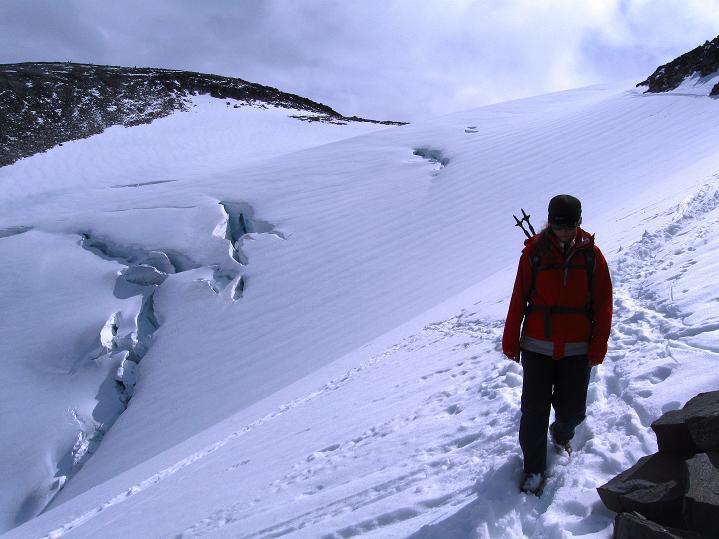 Foto: Andreas Koller / Wander Tour / Galdhopiggen (2469m) - Gletschertour auf den höchsten Berg Nordeuropas  / 07.08.2009 00:53:23