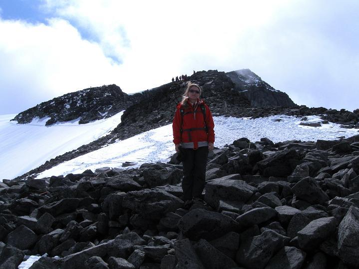 Foto: Andreas Koller / Wander Tour / Galdhopiggen (2469m) - Gletschertour auf den höchsten Berg Nordeuropas  / 07.08.2009 00:53:15