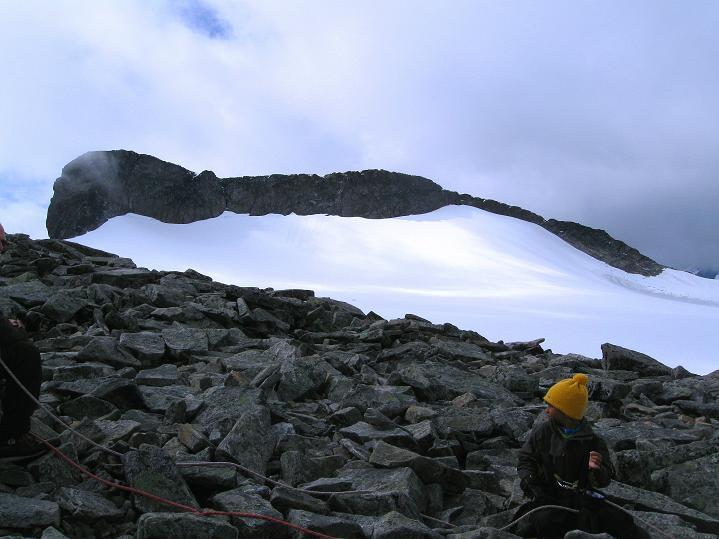 Foto: Andreas Koller / Wander Tour / Galdhopiggen (2469m) - Gletschertour auf den höchsten Berg Nordeuropas  / 07.08.2009 00:53:03