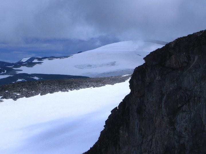 Foto: Andreas Koller / Wander Tour / Galdhopiggen (2469m) - Gletschertour auf den höchsten Berg Nordeuropas  / Glittertind (2465 m) / 07.08.2009 00:52:53