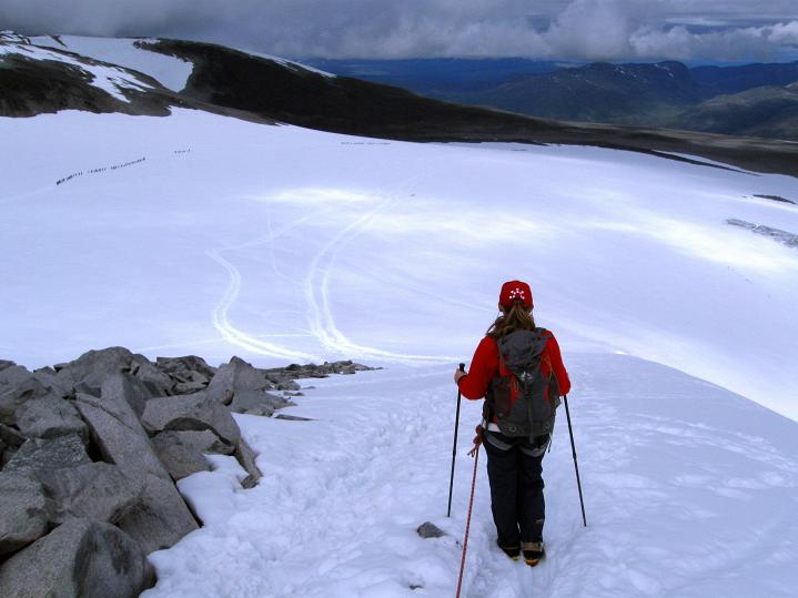 Foto: Andreas Koller / Wander Tour / Galdhopiggen (2469m) - Gletschertour auf den höchsten Berg Nordeuropas  / 07.08.2009 00:52:18