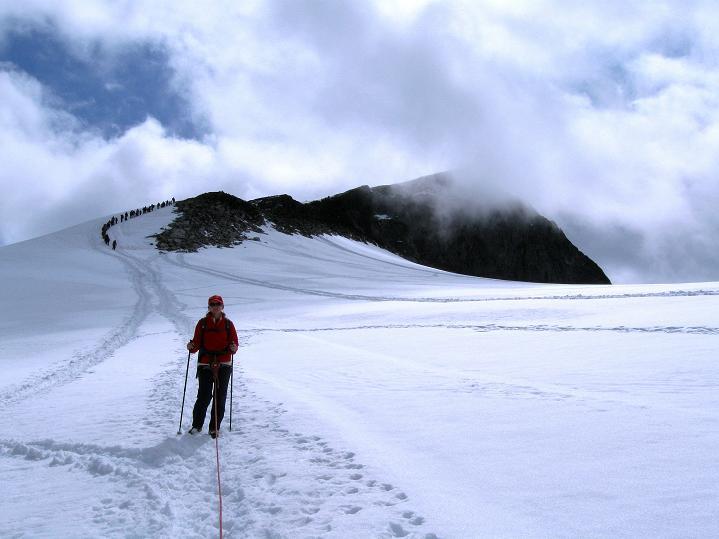 Foto: Andreas Koller / Wander Tour / Galdhopiggen (2469m) - Gletschertour auf den höchsten Berg Nordeuropas  / 07.08.2009 00:52:10