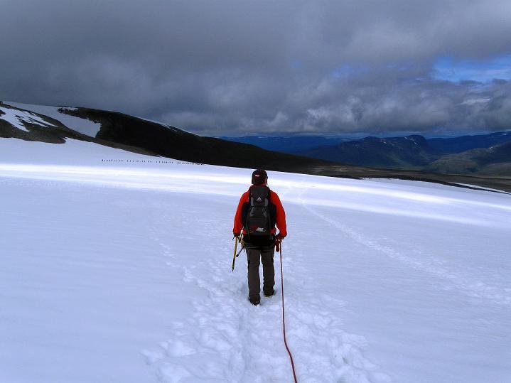 Foto: Andreas Koller / Wander Tour / Galdhopiggen (2469m) - Gletschertour auf den höchsten Berg Nordeuropas  / 07.08.2009 00:51:55