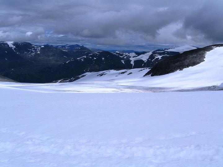 Foto: Andreas Koller / Wander Tour / Galdhopiggen (2469m) - Gletschertour auf den höchsten Berg Nordeuropas  / 07.08.2009 00:51:46