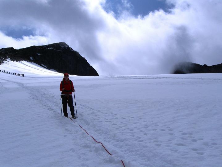 Foto: Andreas Koller / Wander Tour / Galdhopiggen (2469m) - Gletschertour auf den höchsten Berg Nordeuropas  / 07.08.2009 00:51:29