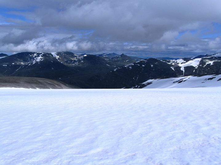 Foto: Andreas Koller / Wander Tour / Galdhopiggen (2469m) - Gletschertour auf den höchsten Berg Nordeuropas  / 07.08.2009 00:50:37