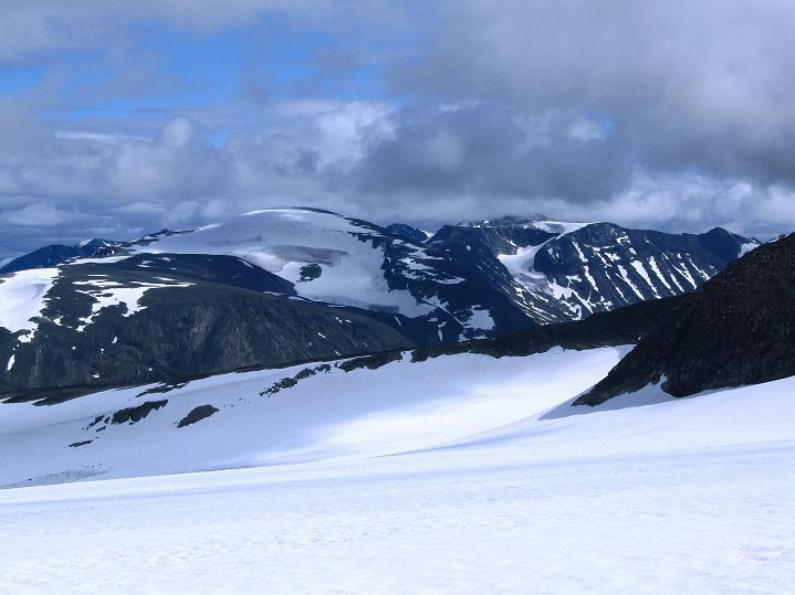 Foto: Andreas Koller / Wander Tour / Galdhopiggen (2469m) - Gletschertour auf den höchsten Berg Nordeuropas  / Glittertind (2465 m) / 07.08.2009 00:50:28