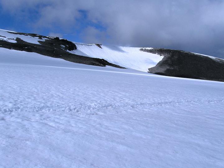 Foto: Andreas Koller / Wander Tour / Galdhopiggen (2469m) - Gletschertour auf den höchsten Berg Nordeuropas  / Galdhoe (2283 m) / 07.08.2009 00:50:08