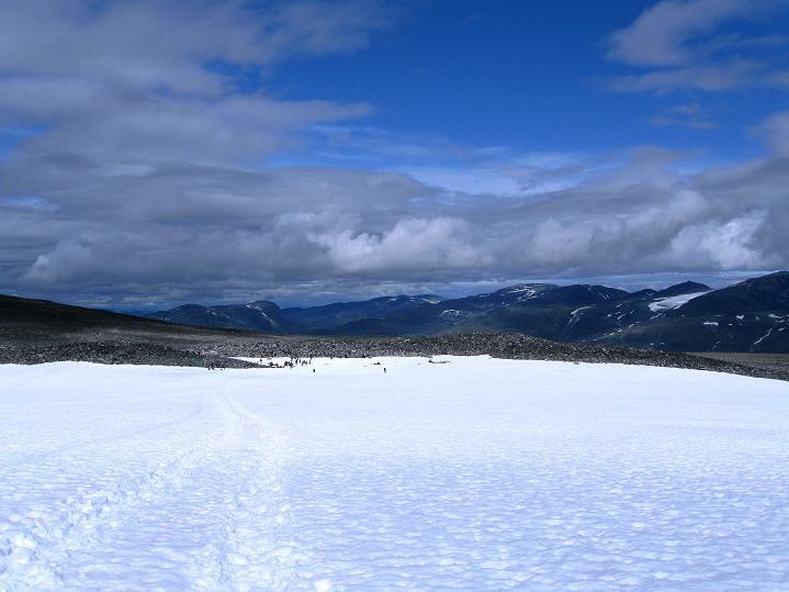 Foto: Andreas Koller / Wander Tour / Galdhopiggen (2469m) - Gletschertour auf den höchsten Berg Nordeuropas  / 07.08.2009 00:49:32