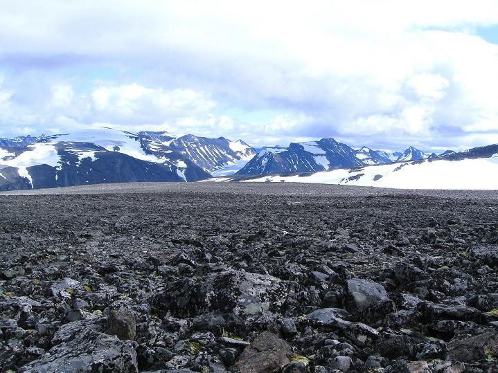 Foto: Andreas Koller / Wander Tour / Galdhopiggen (2469m) - Gletschertour auf den höchsten Berg Nordeuropas  / 07.08.2009 00:47:51