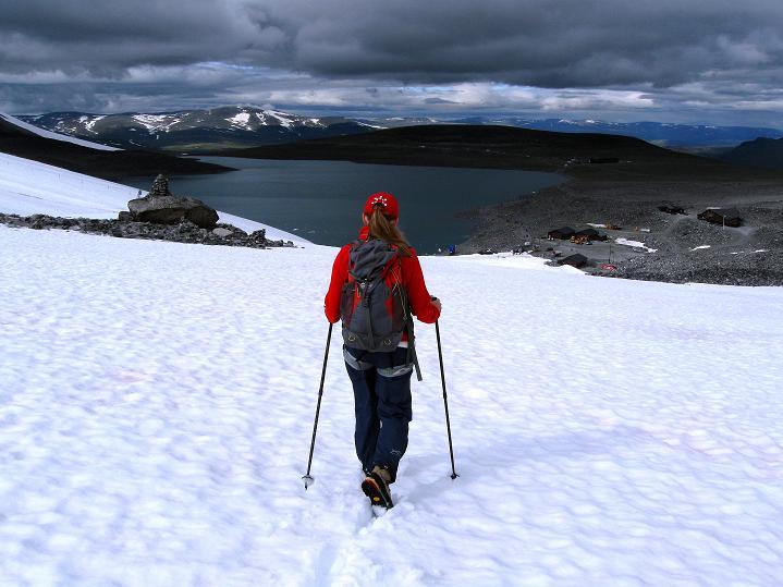 Foto: Andreas Koller / Wander Tour / Galdhopiggen (2469m) - Gletschertour auf den höchsten Berg Nordeuropas  / 07.08.2009 00:47:41