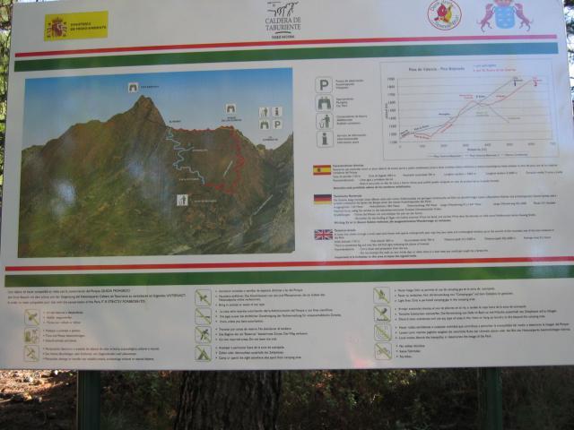 Foto: elipes / Wander Tour / Pico Bejenado / Wandertafel Bejenado / 04.08.2009 12:13:24