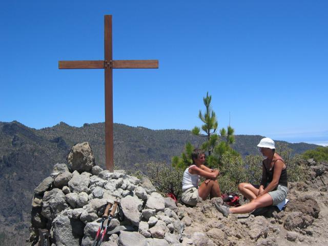 Foto: elipes / Wander Tour / Pico Bejenado / Am Gipfel des Pico Bejenado / 04.08.2009 12:26:26