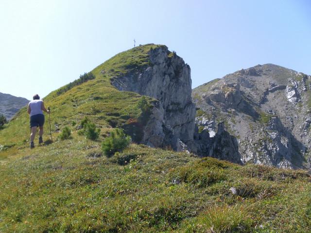 Foto: Wolfgang Lauschensky / Wander Tour / Herbertspitze (2137m) / am Ostgrat der Herbertspitze / 24.08.2012 19:15:08