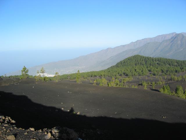 Foto: elipes / Wander Tour / Birigoyo / Lavafeld unterhalb El Pilar / 04.08.2009 16:32:48