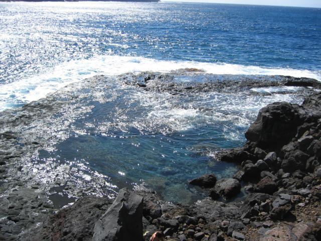 Foto: elipes / Wander Tour / Von Las Tricias zur Lomada Grande / Meeresschwimmbecken / 04.08.2009 12:37:56