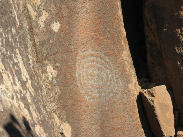 Foto: elipes / Wander Tour / Von Las Tricias zu den Buracas-Höhlen / Petroglyphen / 04.08.2009 21:50:09