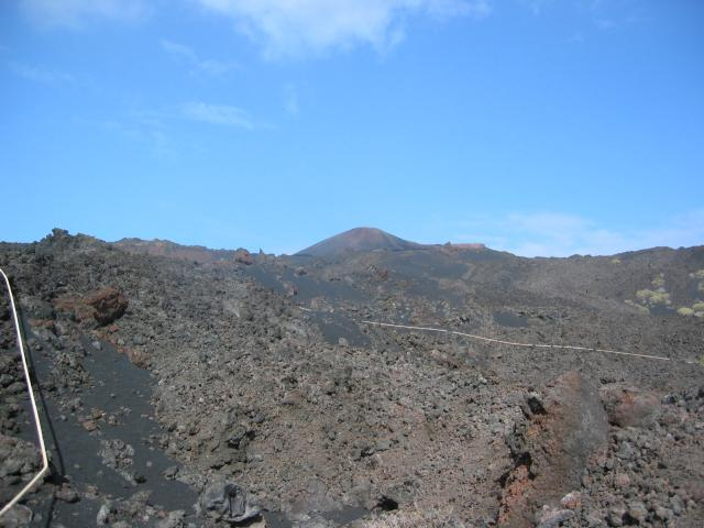 Foto: elipes / Wander Tour / Von Fuencaliente zum Vulkan Teneguia / Volcan San Martin / 11.08.2009 09:32:02