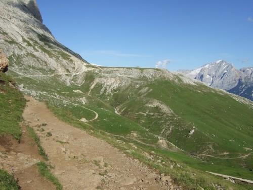 Foto: hofsab / Mountainbike Tour / Rund um den Langkofel über Col Rodela (2484 m) / 27.08.2009 21:33:12