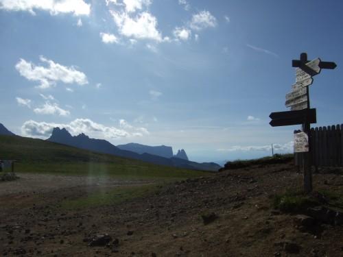 Foto: hofsab / Mountainbike Tour / Rund um den Langkofel über Col Rodela (2484 m) / 27.08.2009 21:33:49