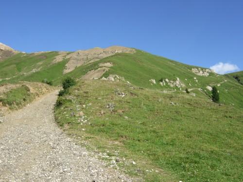 Foto: hofsab / Mountainbike Tour / Rund um den Langkofel über Col Rodela (2484 m) / rasanter Downhill zur Zallinger Hütte / 27.08.2009 21:35:15