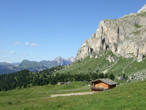 Foto: hofsab / Mountainbike Tour / Rund um den Langkofel über Col Rodela (2484 m) / 27.08.2009 21:35:29