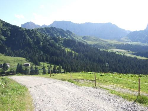 Foto: hofsab / Mountainbike Tour / Rund um den Langkofel über Col Rodela (2484 m) / Weiterfahrt zur Seiser Alm / 27.08.2009 21:36:25