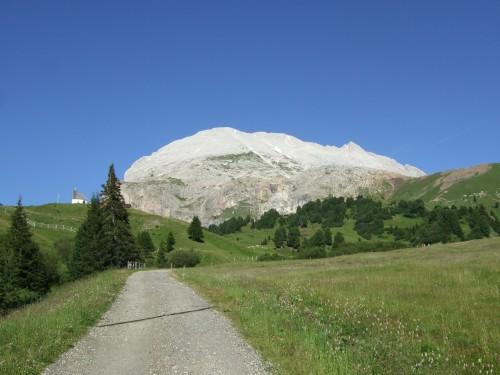Foto: hofsab / Mountainbike Tour / Rund um den Langkofel über Col Rodela (2484 m) / schöne Abfahrtsvariante auch von der Zallinger Hütte / 27.08.2009 21:37:10