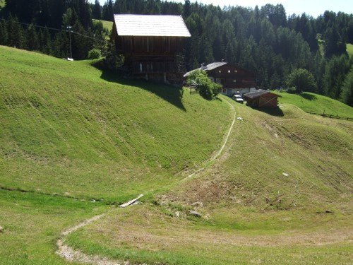 Foto: hofsab / Mountainbike Tour / Rund um den Langkofel über Col Rodela (2484 m) / feiner, kurzer Trail / 27.08.2009 21:40:38