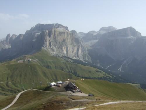 Foto: hofsab / Mountainbike Tour / Rund um den Langkofel über Col Rodela (2484 m) / Aussicht vom Col Rodela / 27.08.2009 21:31:21