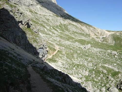 Foto: hofsab / Mountainbike Tour / Rund um den Langkofel über Col Rodela (2484 m) / viel davon ist fahrbar / 27.08.2009 21:32:29
