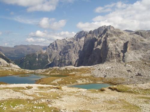 Foto: hofsab / Mountainbike Tour / Rund um die Drei Zinnen über Paternsattel (2454 m) / bei der Drei Zinnenhütte / 26.08.2009 13:04:32