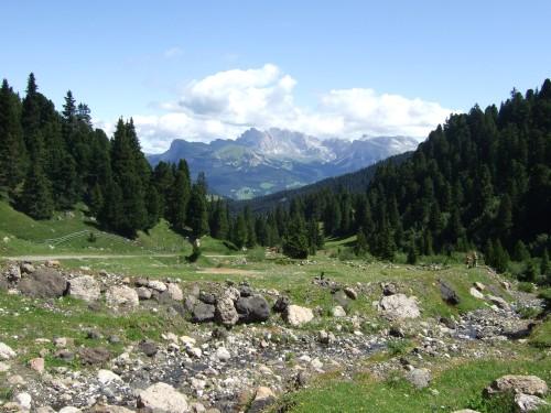 Foto: hofsab / Mountainbike Tour / Rund um den Schlern über Eselrücken (2560 m) und Prügelweg / 27.08.2009 21:02:30