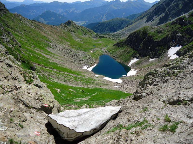 Foto: Günter Siegl / Wander Tour / Über den Gefrorenen See zum Dreistecken-Grat (2449 m) / 04.08.2013 13:09:18