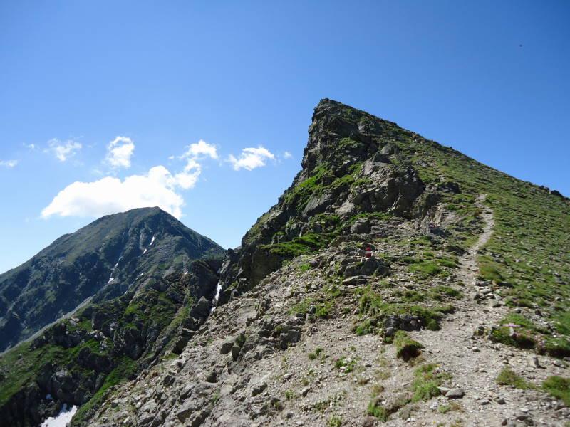 Foto: Günter Siegl / Wander Tour / Über den Gefrorenen See zum Dreistecken-Grat (2449 m) / 04.08.2013 13:09:27