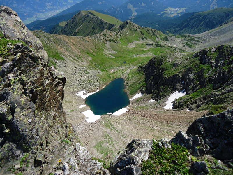 Foto: Günter Siegl / Wander Tour / Über den Gefrorenen See zum Dreistecken-Grat (2449 m) / 04.08.2013 13:09:39