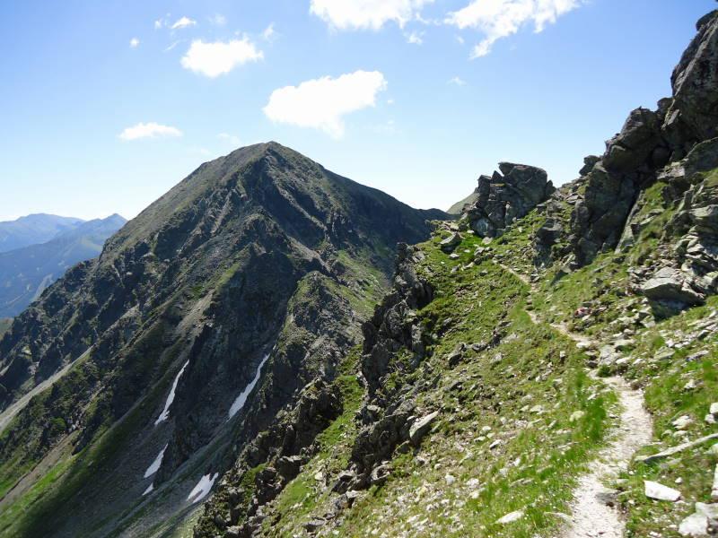 Foto: Günter Siegl / Wander Tour / Über den Gefrorenen See zum Dreistecken-Grat (2449 m) / 04.08.2013 13:10:08