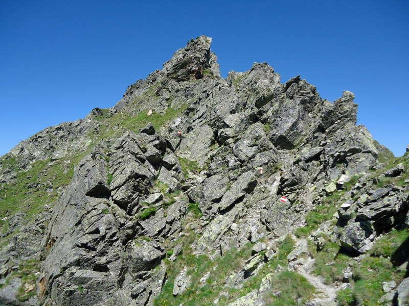 Foto: Günter Siegl / Wander Tour / Über den Gefrorenen See zum Dreistecken-Grat (2449 m) / 04.08.2013 13:10:44