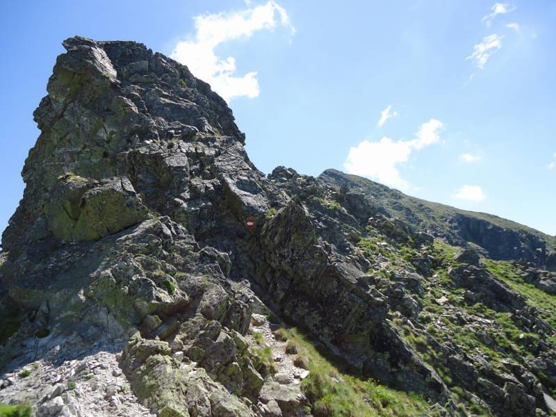 Foto: Günter Siegl / Wander Tour / Über den Gefrorenen See zum Dreistecken-Grat (2449 m) / 04.08.2013 13:10:52