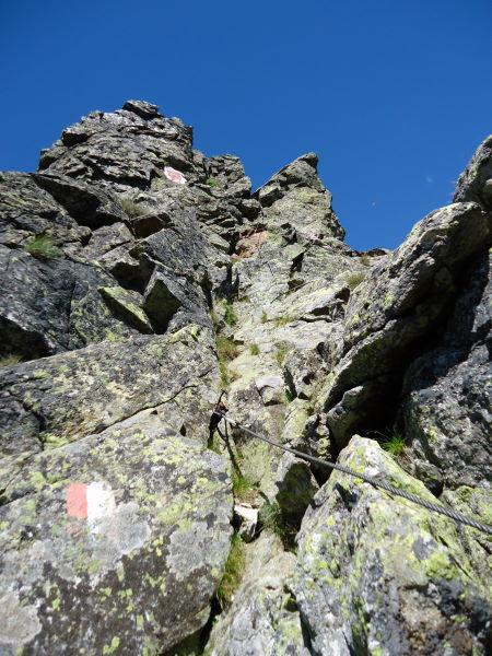 Foto: Günter Siegl / Wander Tour / Über den Gefrorenen See zum Dreistecken-Grat (2449 m) / 04.08.2013 13:11:23