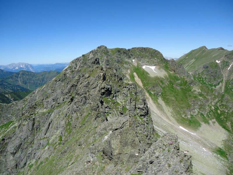 Foto: Günter Siegl / Wander Tour / Über den Gefrorenen See zum Dreistecken-Grat (2449 m) / 04.08.2013 13:11:48
