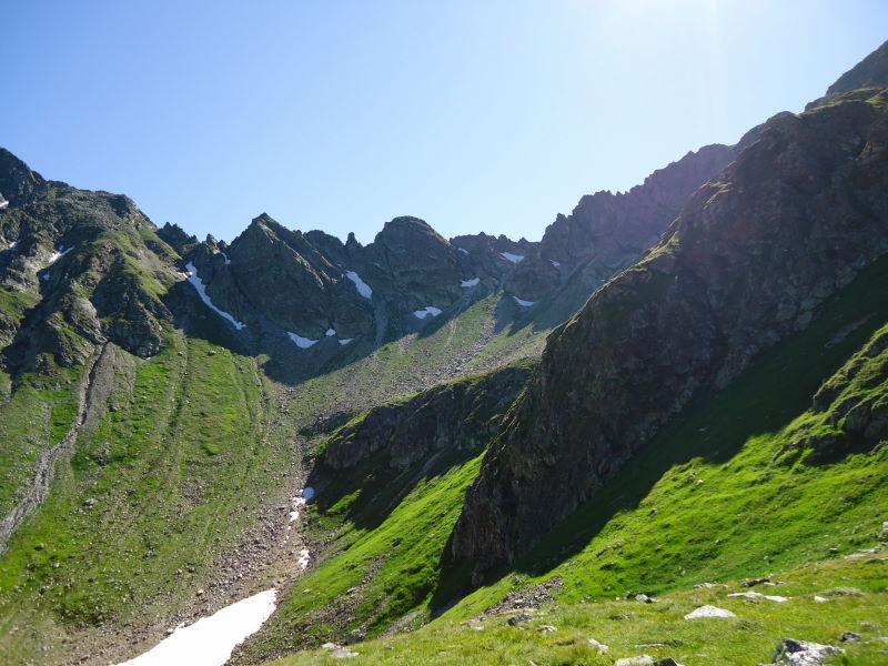 Foto: Günter Siegl / Wander Tour / Über den Gefrorenen See zum Dreistecken-Grat (2449 m) / 04.08.2013 13:08:20