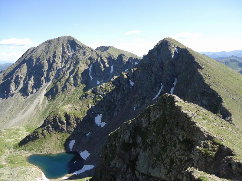 Foto: Günter Siegl / Wander Tour / Über den Gefrorenen See zum Dreistecken-Grat (2449 m) / 04.08.2013 13:08:40