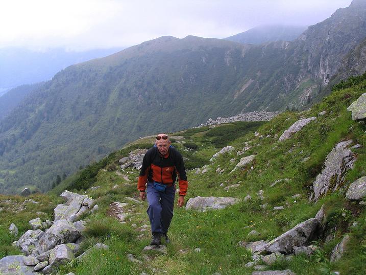Foto: Andreas Koller / Wander Tour / Über den Gefrorenen See zum Dreistecken-Grat (2449 m) / 07.08.2009 16:51:58