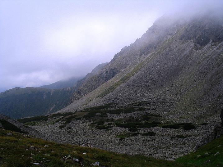 Foto: Andreas Koller / Wander Tour / Über den Gefrorenen See zum Dreistecken-Grat (2449 m) / 07.08.2009 16:51:53